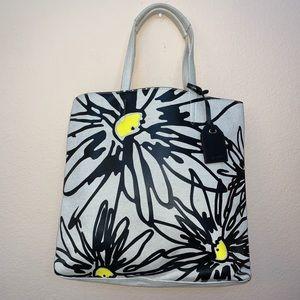 Reed Krakoff Large Sunflower Canvas Tote Bag